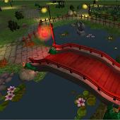 3D Asian Garden