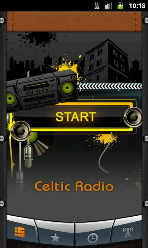 Celtic Radio - screenshot