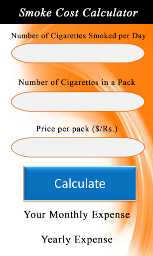 Smoke Cost Calculator