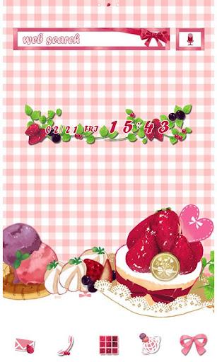 粉色甜點 方格條紋布 for[+]HOME