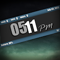 UCCW Skin - ShadowStripe Clock icon