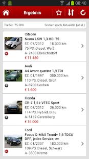 gebrauchtwagen.at- screenshot thumbnail