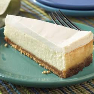 Sour Cream-Topped Cheesecake.