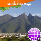 Monterrey Street Map