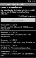 Screenshot of Cheat-GTA.de App