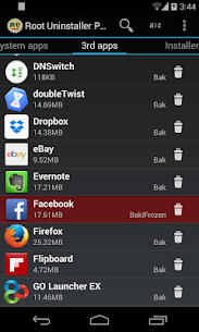 Root Uninstaller Pro v8.3 Mod APK 2