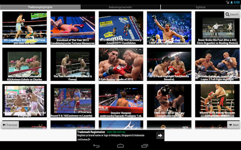 Boxing News - screenshot thumbnail