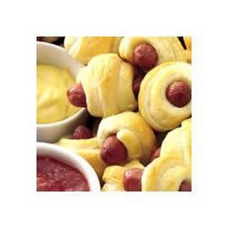 Sausage Snack Wraps