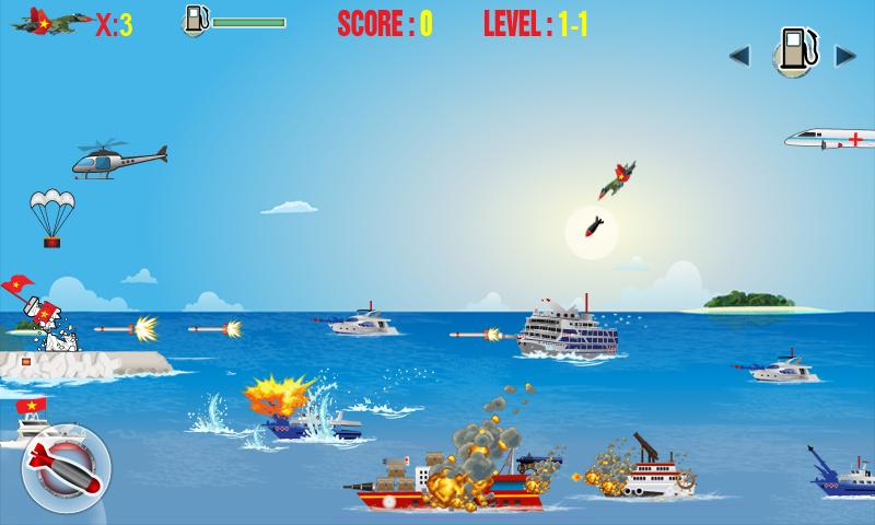 Spratly defence Pro - screenshot