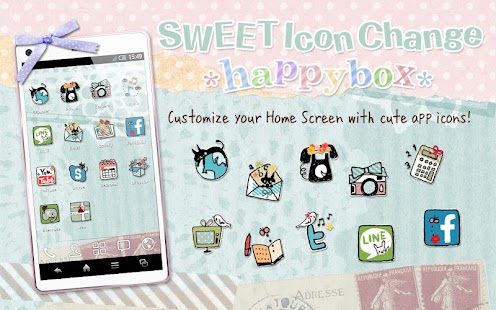 SWEET Icon Change *happybox*- screenshot thumbnail