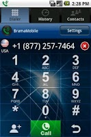 Screenshot of Bramamobile