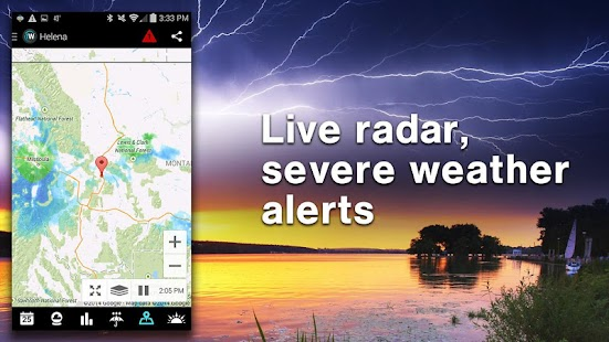 1Weather:Widget Forecast Radar - Android Apps on Google Play