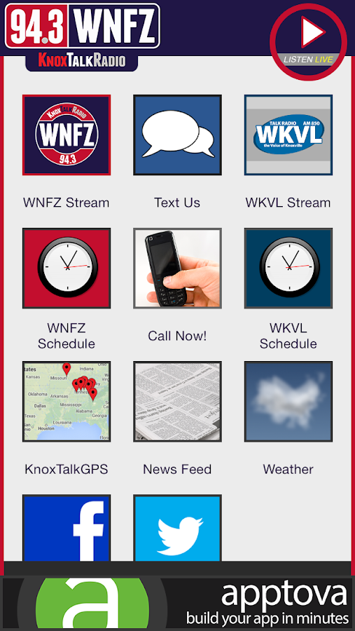 KnoxTalkRadio - screenshot
