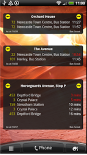 UK Bus Times Live: Bus Scout - screenshot thumbnail