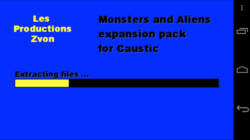 Monsters-Aliens Caustic Pack