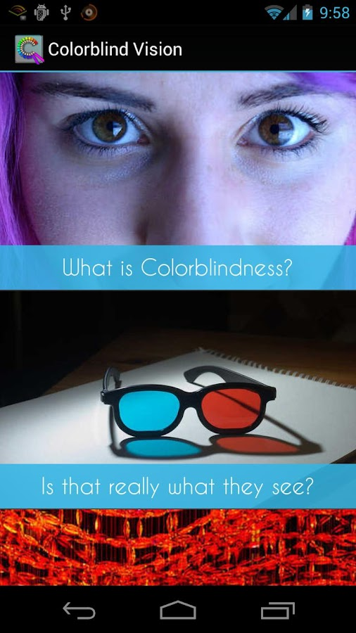 Colorblind Vision (Free)- screenshot