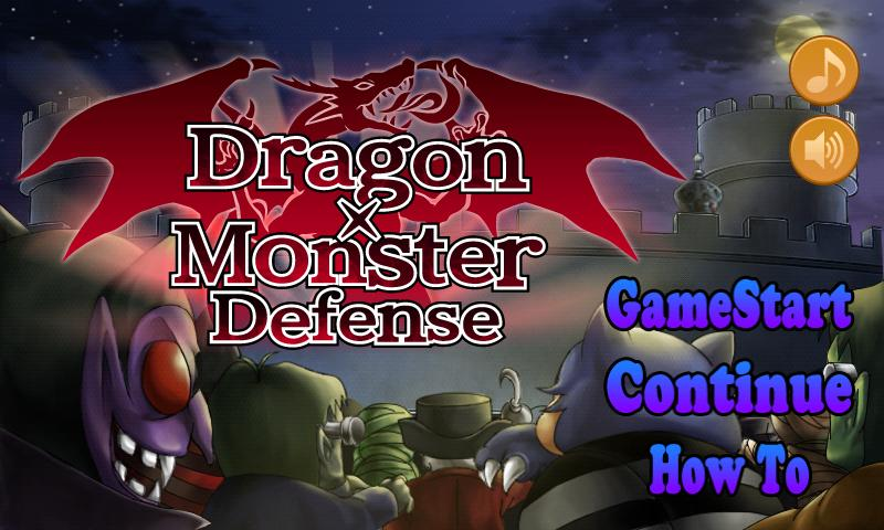 Dragon Monster Defense Games - screenshot
