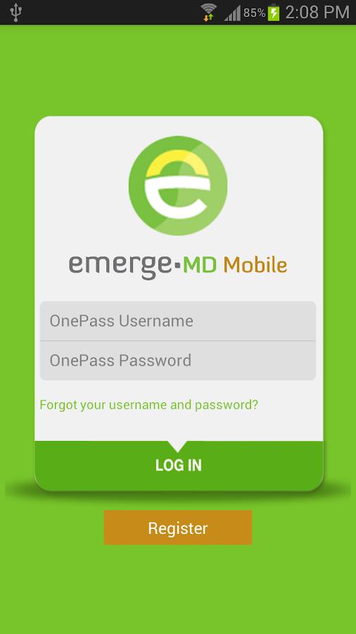 OnePass - screenshot