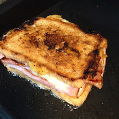 The grilled Ham  and Cheese. They only use Boars head brand meats and cheeses!