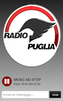 Screenshot of Radio Puglia