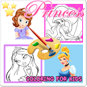 Download Kids Coloring Pages For Girls APK on PC