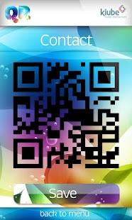 QR code reader and generator- screenshot thumbnail