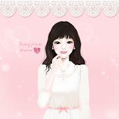 Baby Pink Choux Atom Theme