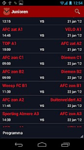 SportclubApp AFC - screenshot thumbnail