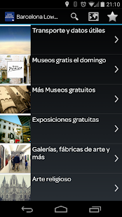 Guia de Barcelona Low Cost- screenshot thumbnail