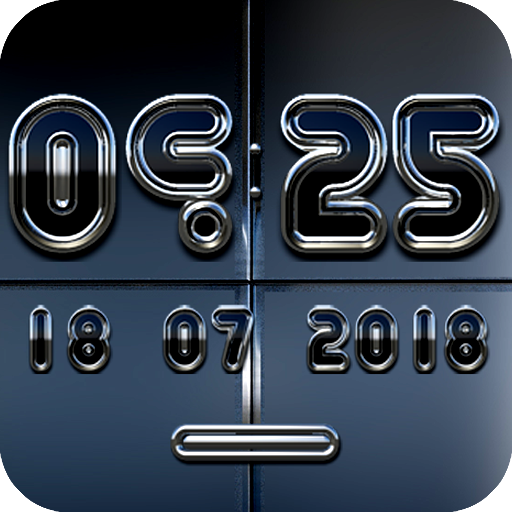 KLAUS Digital Clock Widget