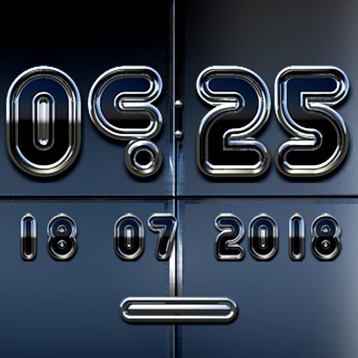 KLAUS Digital Clock Widget