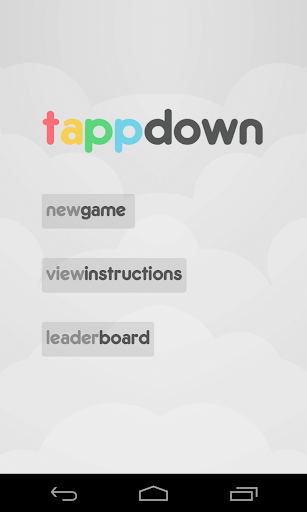Tapp Down Speed Tapping