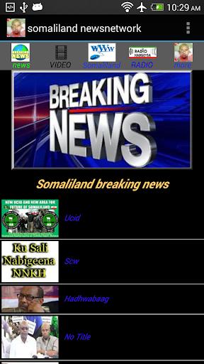 somaliland news network