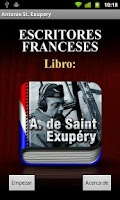 Screenshot of Antoine de Saint-Exupery