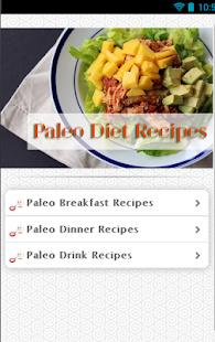 玩免費健康APP|下載古食谱 paleo diet recipes app不用錢|硬是要APP