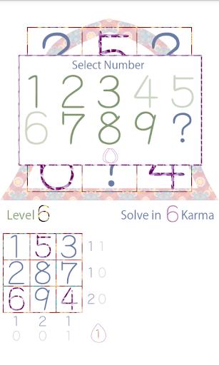 玩免費解謎APP|下載シンプル数字パズルゲーム - Buddha Numbers app不用錢|硬是要APP