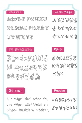 Screenshots of InstaFontMaker Font Maker Free for iPhone