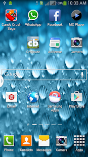 Galaxy Alpha Raindrop LW screenshot