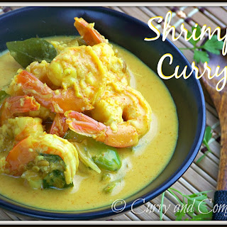 Sri Lankan Shrimp Curry.