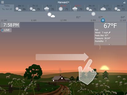 YoWindow Free Weather - screenshot thumbnail