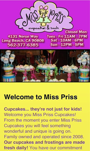 Miss Priss Cupcakes