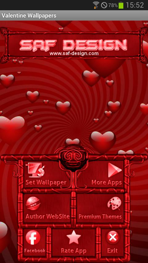 Valentine´s GO Launcher Theme- screenshot