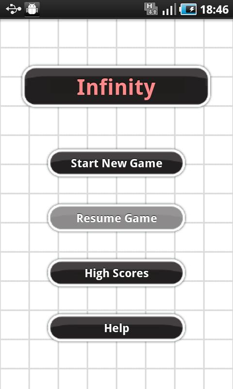 Infinity Morpion Solitaire- screenshot