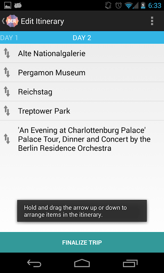 Holidayen Berlin- screenshot