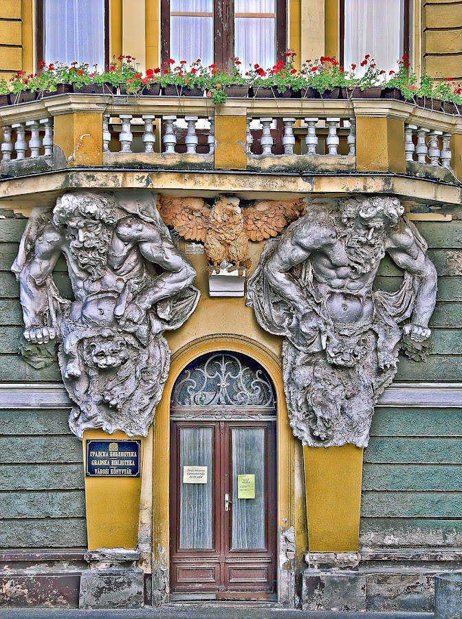 by Гојко Галић - Buildings & Architecture Architectural Detail ( building, detail, hdr, enter, architecture )