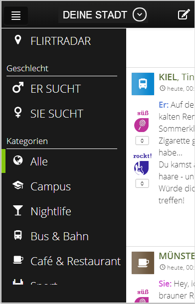 bibflirt - screenshot