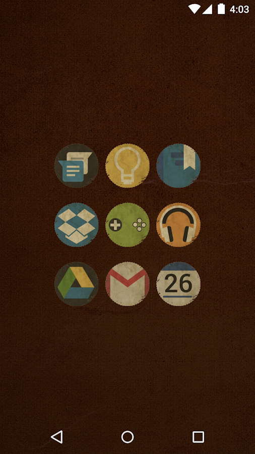 Vintage - Icon Pack- screenshot