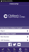 Screenshot of ChildrensPgh