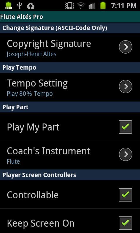 Flute Altés Pro- screenshot