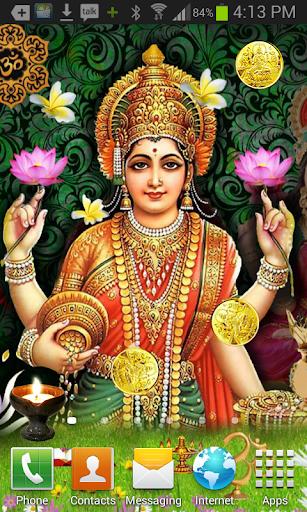Maa Lakshmi HQ Live Wallpaper